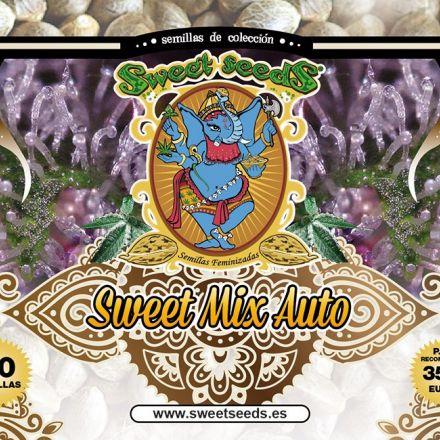Sweet Mix Autofem - fem. a autoflowering semienka 10ks Sweet Seeds