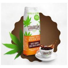 Cannabissimo mletá káva s konopnými semínky 250g, Zelená Země