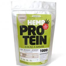 Zelená Země Konopný protein kakao/banán 1000 g