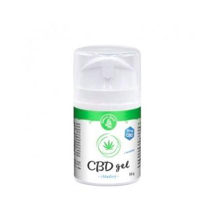 CBD chladivý gél 50g, Zelená Země