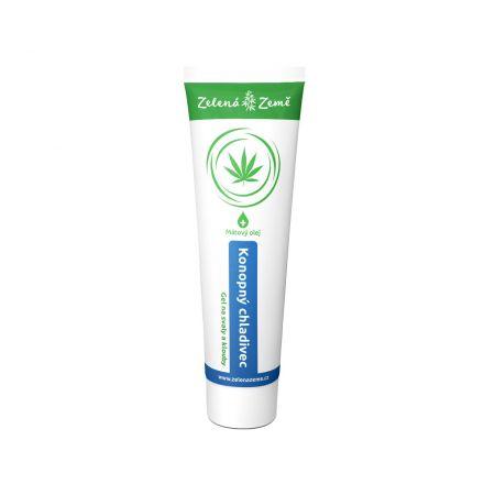 Zelená Země Menthocann chladivé konopné mazání 100 ml