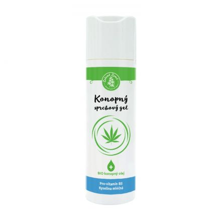 Zelená Země Konopný sprchový gel 200 ml