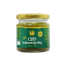 CBD kokosový olej 170ml, Zelená Země