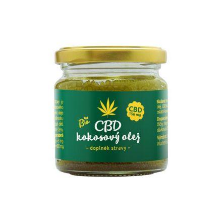 CBD kokosový olej 30ml, Zelená Země