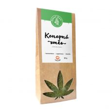 Zelená Země Konopný čaj list a květ 30 g