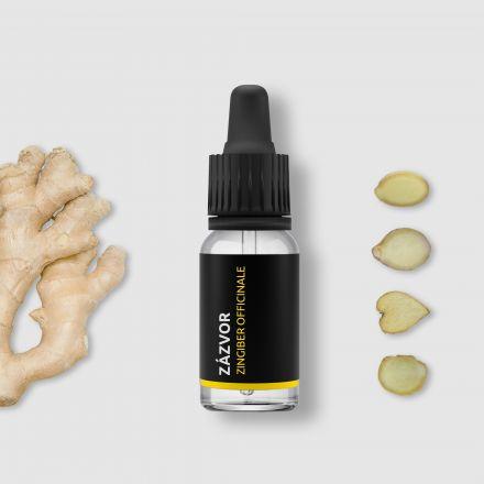 Zázvor - 100% přírodní esenciální olej 10ml