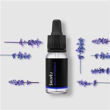 Šalviový olej (Salvia officinalis) 10ml