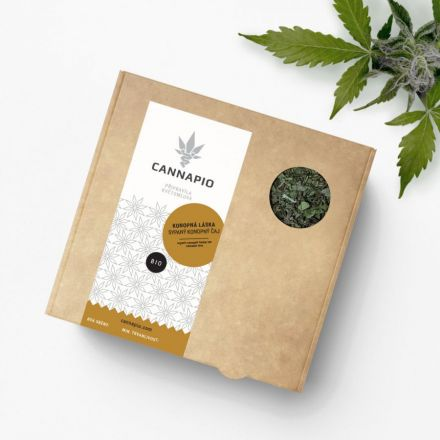Konopná láska - sypaný konopný čaj bio