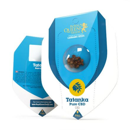 Tatanka Pure CBD - feminizovaná semienka 3ks Royal Queen Seeds