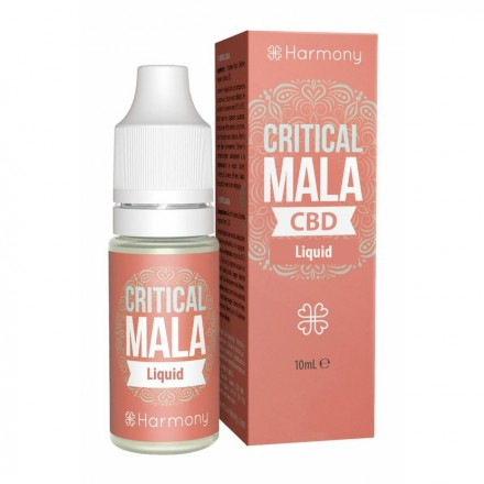 Harmony CBD E-liquid 100 mg, 10 ml, Critical Mala