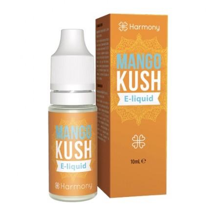 Harmony CBD E-liquid 30 mg, 10 ml, Mango Kush