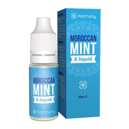 Harmony CBD E-liquid 100 mg, 10 ml, Moroccan Mint