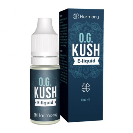 Harmony CBD E-liquid 30 mg, 10 ml, OG Kush
