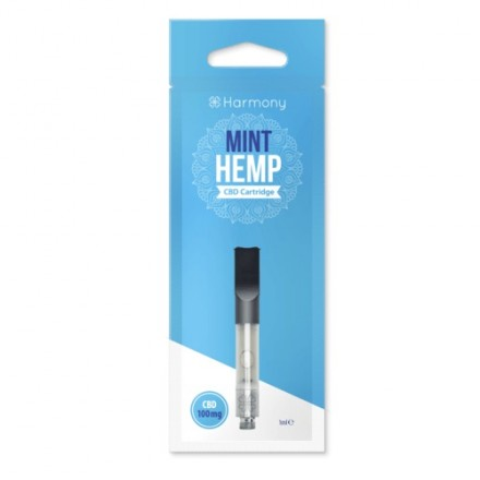 Harmony CBD Pen Cartridge 100 mg, Moroccan Mint