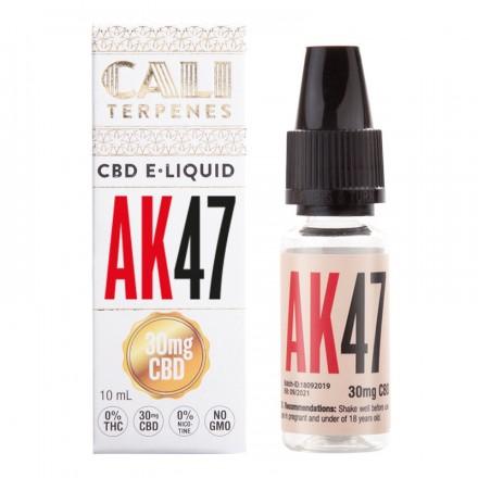 Cali Terpenes CBD E-liquid 30 mg, 10 ml, AK 47