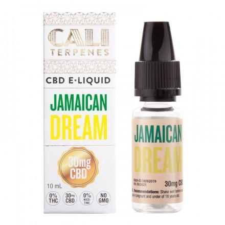 Cali Terpenes CBD E-liquid 30 mg, 10 ml, Jamaican Dream