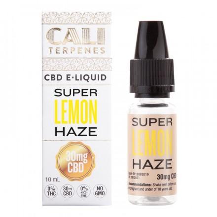 Cali Terpenes CBD E-liquid 30 mg, 10 ml, Super Lemon Haze