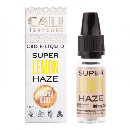 Cali Terpenes CBD E-liquid 100 mg, 10 ml, Super Lemon Haze