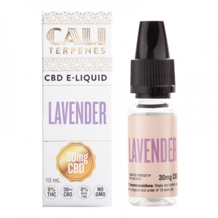 Cali Terpenes CBD E-liquid 30 mg, 10 ml, Lavender