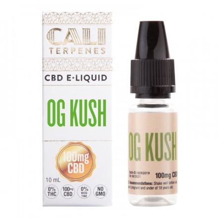 Cali Terpenes CBD E-liquid 100 mg, 10 ml, OG Kush