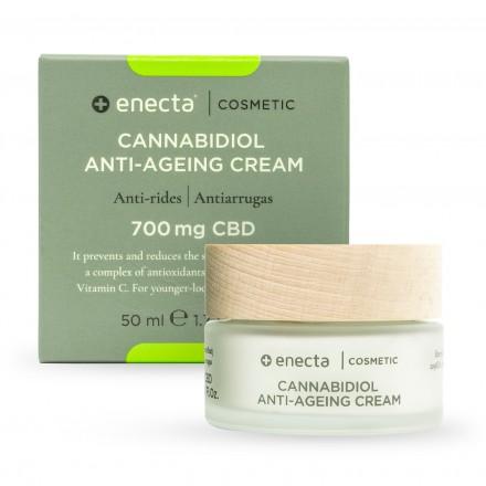 Enecta Krém proti starnutiu CBD 700 mg, 50 ml