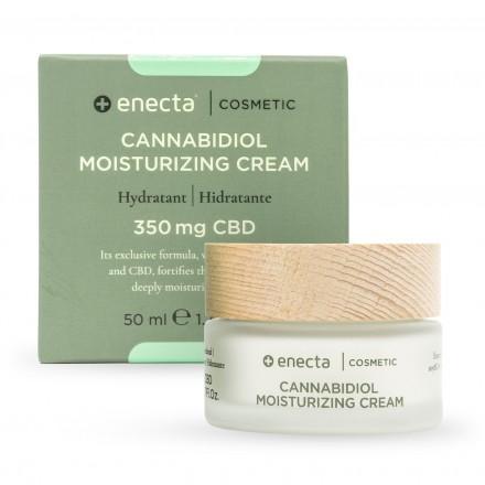 Enecta Hydratační krém CBD 350 mg, 50 ml