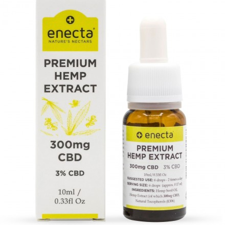Enecta CBD olej 3%, 300 mg, 10 ml