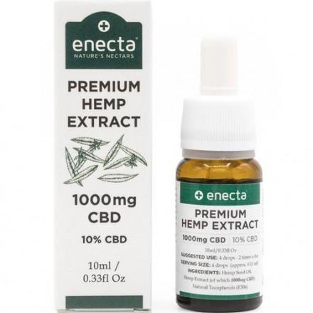 Enecta CBD olej 10%, 1000 mg, 10 ml