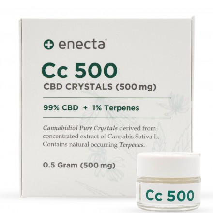 Enecta CBD krystaly 99%, 500 mg