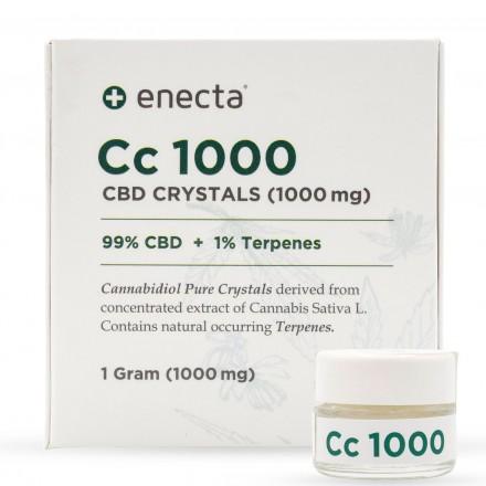Enecta CBD krystaly 99%, 1000 mg