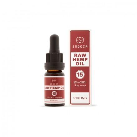 Endoca RAW CBD + CBDa olej 15%, 1500 mg, 10 ml