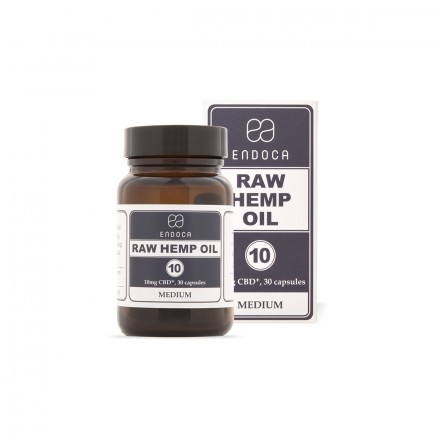 Endoca RAW CBD kapsule 3%, 300 mg
