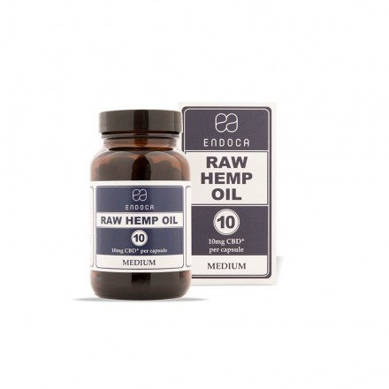 Endoca RAW CBD kapsule 3%, 1200 mg