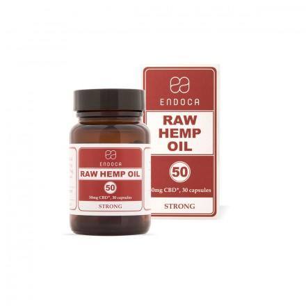 Endoca RAW CBD kapsule 15%, 1500 mg