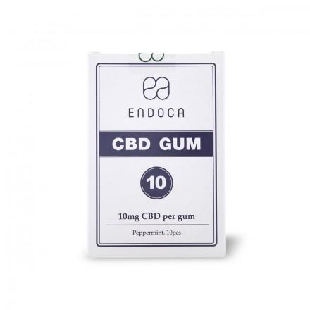 Endoca CBD žuvačky 100 mg, 10 ks