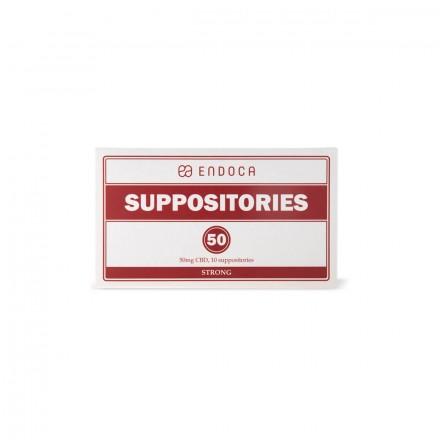 Endoca CBD čapíky 500 mg, 10 čapíkov