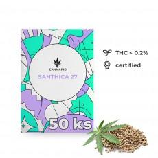 Santhica 27 - technické konope 50ks Cannapio