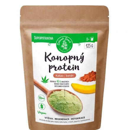 Zelená Země Konopný protein kakao/banán 500 g