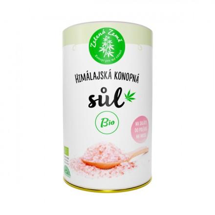 Zelená Země BIO Konopná sůl 165 g