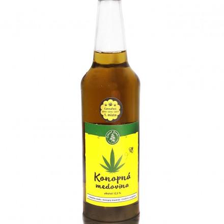 Konopná medovina 500ml, Zelená Země