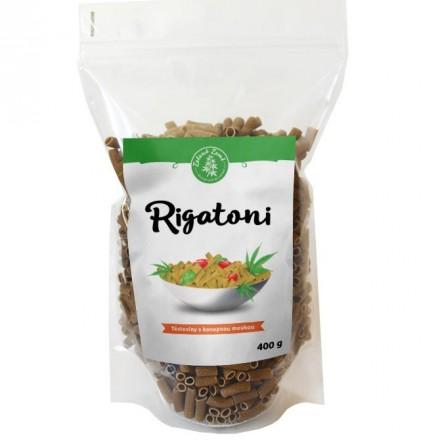 Zelená Země Konopné těstoviny rigatoni 400g