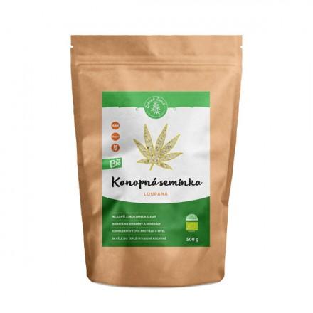 Zelená Země Bio Konopné semínko loupané - 500 g