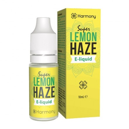 Harmony CBD E-liquid 600 mg, 10 ml, Super Lemon Haze