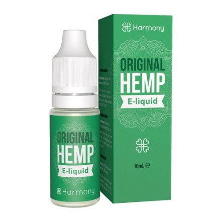 Harmony CBD E-liquid 600 mg, 10 ml, Original Hemp