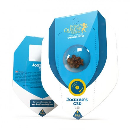 Joanne's CBD - feminizovaná semienka 5ks Royal Queen Seeds