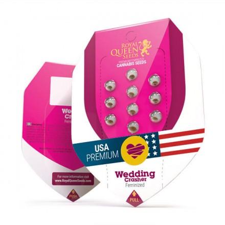 Wedding Crasher - feminizovaná semínka 3 ks Royal Queen Seeds