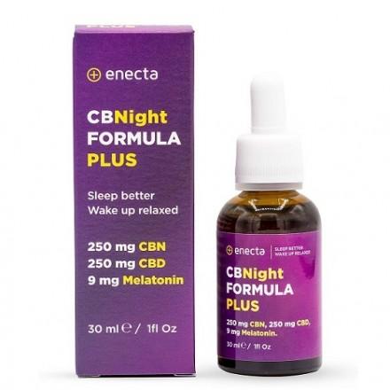 Enecta CBNight FORMULA PLUS, 250 mg CBD/CBN, 30 ml