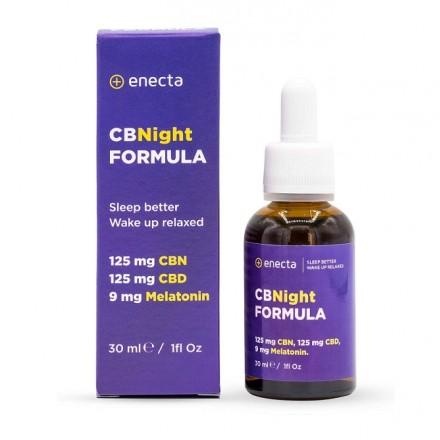 Enecta CBNight FORMULA, 125 mg CBD/CBN, 30 ml