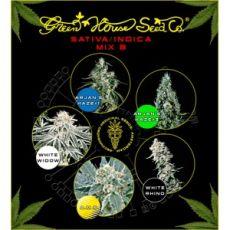 Sativa/Indica Mix B - semínka 10 ks feminizovaná semínka Green House Seeds