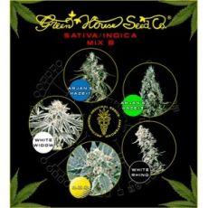 Sativa/Indica Mix B - semínka 5 ks feminizovaná semínka Green House Seeds
